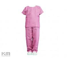수술복 Surgical Suit Pink L (50벌)