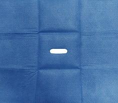 멸균소공포 (MB-1500) 50x50cm, hole 2x7cm (타원형) [TAPE 없음]  [100]